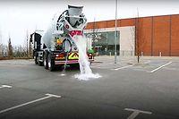 Le béton Topmix Perméable absorbe jusqu'à 3 000 litres d'eau en 1 minute.