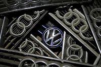 Logos Volkswagen et Audi.