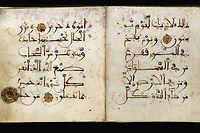 Pages du Coran, extraites d'un manuscrit espagnol du xiiie siècle