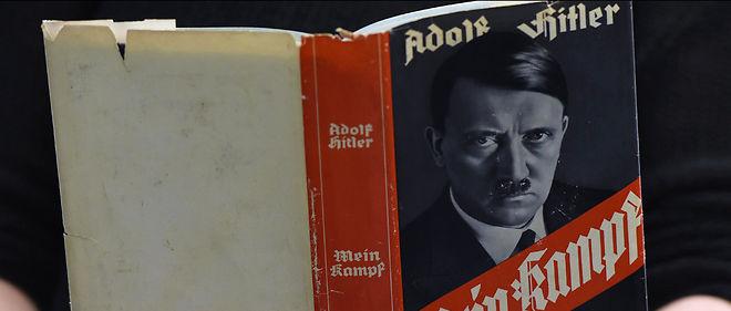 """""""Mein Kampf"""", qui va tomber dans le domaine public en France, suscite l'intérêt de l'État islamique."""