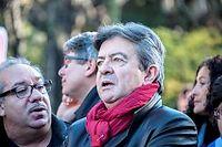 Le député européen du Parti de gauche, Jean-Luc Mélenchon. ©CITIZENSIDE/YANN KORBI