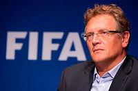 Jérôme Valcke est suspecté d'avoir violé plusieurs articles du code d'éthique de l'instance suprême du foot ©SEBASTIEN BOZON