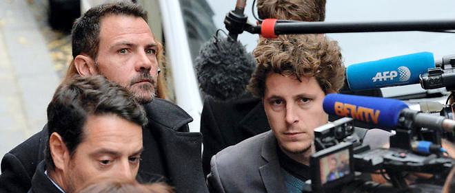 Jérôme Kerviel assailli par la presse, le 15 octobre 2015.
