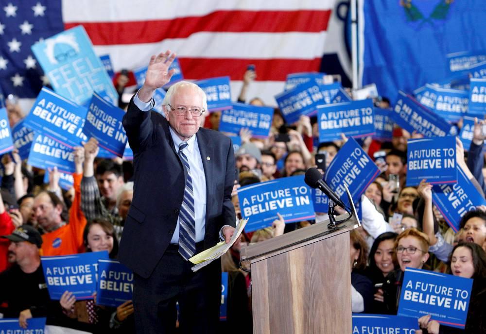 Le sénateur du Vermont, Bernie Sanders. © © Steve Marcus / Reuters