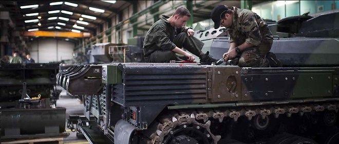 L'Arabie saoudite s'intéresse au char français Leclerc. Elle pourrait en acquérir des centaines.