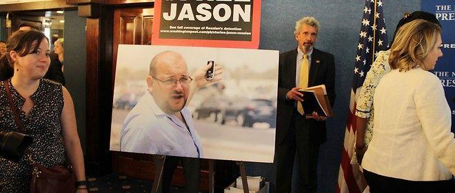 """Le journalisteirano-américain du """"Washington Post"""" Jason Rezaian a été libéré samedi après l'entrée en vigueur de l'accord sur le nucléaire iranien."""