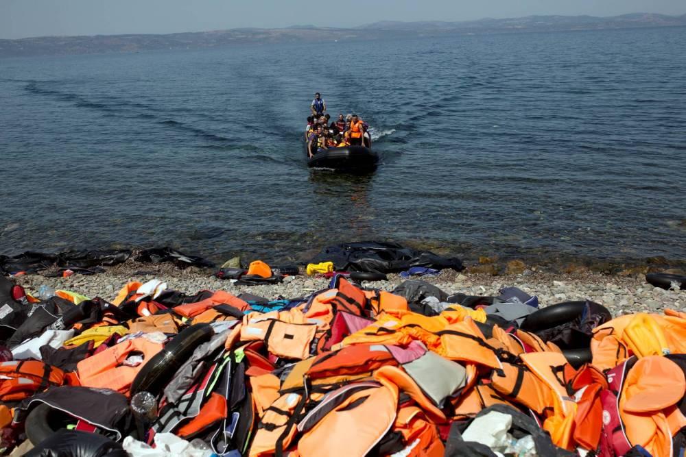 GREECE-EUROPE-MIGRANTS © ANGELOS TZORTZINIS AFP