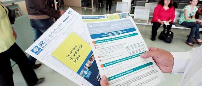 En 2016, le montant du RSA atteint 524,16 euros pour une personne seule et 786,24 pour un couple.