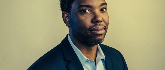 """Ta-Nehisi Coates, écrivain, journaliste-correspondant du magazine """"The Atlantic"""". Cet intellectuel afro-américain est aussi un blogueur influent. Ici, au Washington Forum Ideas en 2014."""