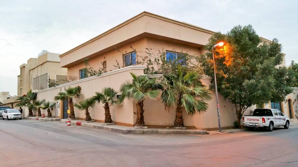 """La villa des Al-Otaishan. ©  Clarence Rodriguez pour """"Le Point"""""""