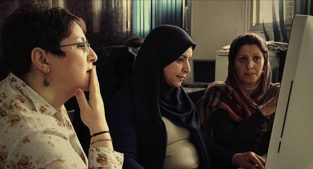 Des journalistes d'El Watan au travail.  ©  Contre-pouvoirs