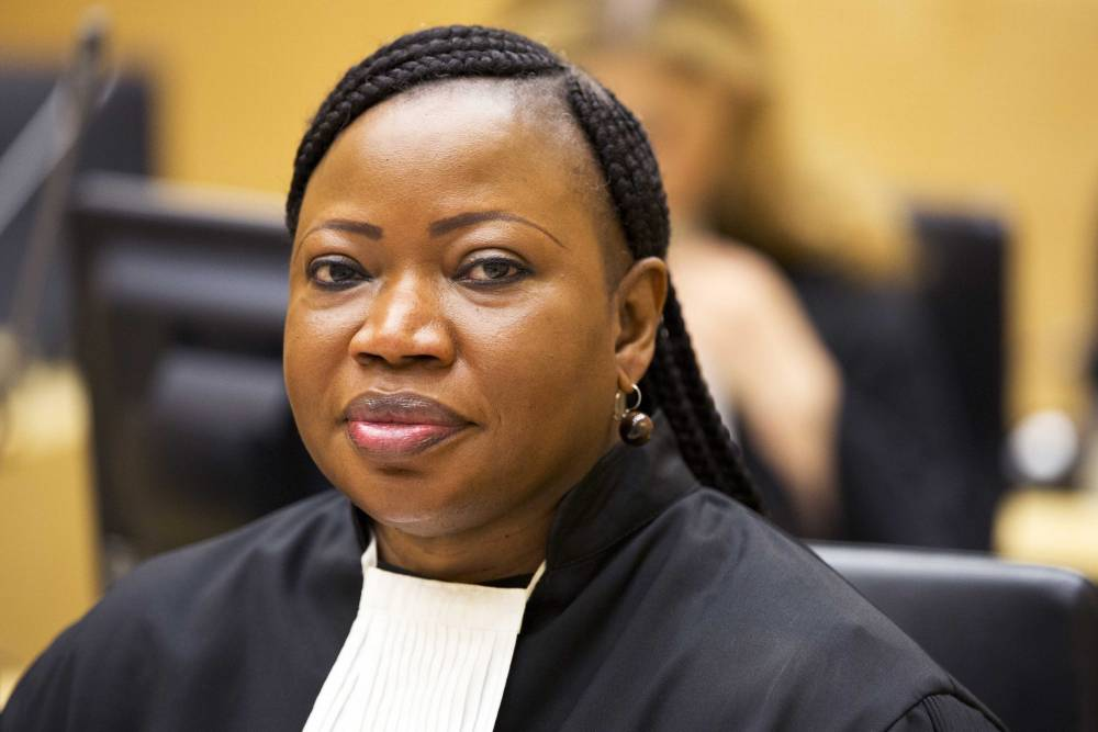 Fatou Bensouda, procureur de la CPI.  © AFP/PETER DEJONG