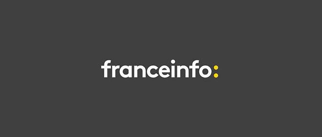 Le logo de la chaîne info publique France Info lancée le 1er septembre 2016.