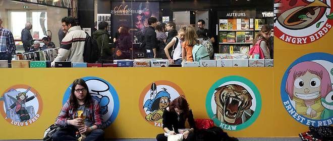 Festival de la BD d'Angoulême : le dessinateur belge Hermann primé.