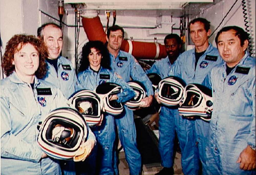 US-SPACE SHUTTLE CHALLENGER-ST 51-L © HO DR
