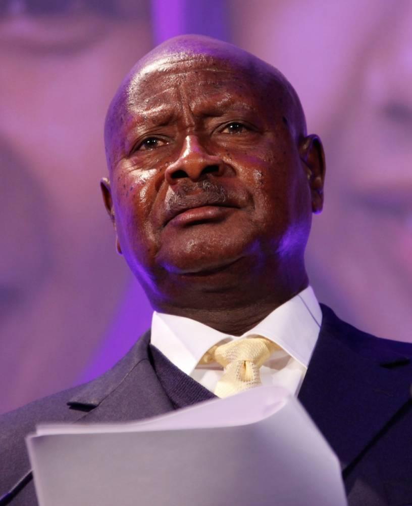 Le président Yoweri Museveni est candidat à sa propre succession lors de la présidentielle du 18 février prochain. Ici, au Sommet sur la planification familiale à Londres le 11 juillet 2012.  ©  Russell Watkins/DFID