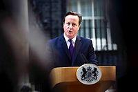 Le Premier ministre britannique David Cameron a confirmé la tenue prochaine d'un référendum sur une sortie de la Grande-Bretagne de l'Union européenne. ©CARL COURT