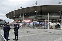 Le stade de France, quelques jours après les attentats. Pour la première fois depuis le drame, une rencontre sportive s'y déroule ce samedi avec le match de rugby France-Italie. ©Vladimir Pesnya