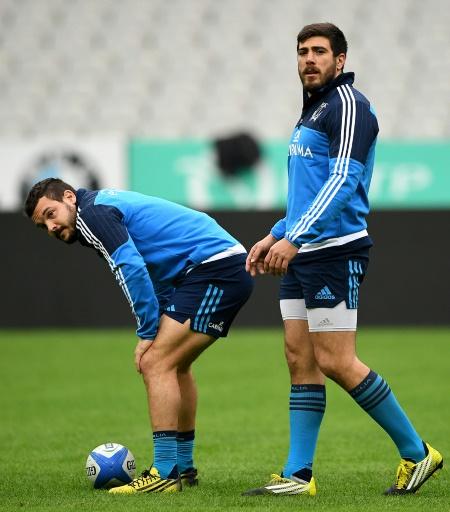 Les Italiens à l'entraînement au Stade de France, le 5 février 2016 © FRAMCK FIFE AFP