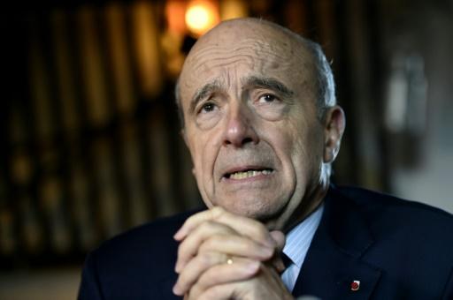 Le maire de Bordeaux, Alain Juppé, à Romille, dans l'ouest de la France, le 3 février 2016 © DAMIEN MEYER AFP/Archives