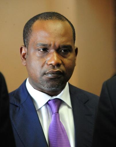 Le ministre des Affaires étrangères du Burkina Faso, Alpha Barry, à Ouagadougou le 17 janvier 2016 © AHMED OUOBA AFP/Archives