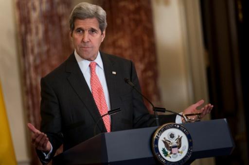 Le chef de la diplomatie américaine, John Kerry, à Washington le 5 février 2016 © Brendan Smialowski AFP