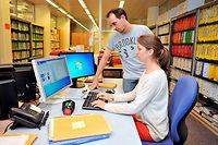 Avec un taux net d'emploi de 82,4 % en 2015, les diplômés des grandes écoles de commerce s'insèrent toujours sans difficulté. Mais le marché du travail se complexifie. ©Philippe Renault