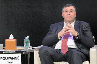 Commentant l'année 2015, le PDG de Total, Patrick Pouyanné, assure :«On a bien résisté, nous avons fait face. . ©KARIM JAAFAR