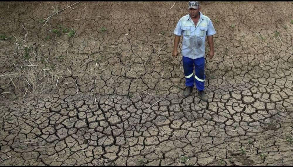 L'Afrique du sud est victime du phénomène climatique El Nino et les prochaines pluies ne sont pas attendues avant le mois de mars 2016, selon certains spécialistes de la météo. ©  AFP