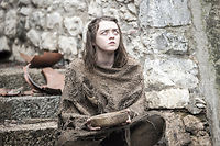 Arya Stark dans la saison 6 de Game of Thrones.