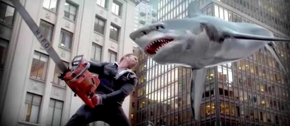 """Les films """"Sharknado"""" connaissent un succès fou sur les réseaux sociaux."""