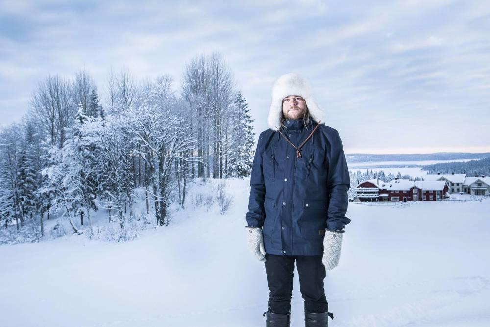 Reportage Suede, Janvier 2016.   © Julien Faure REA