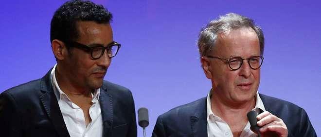 """Lemine Ould Mohamed Salem et Francois Margolin, les auteurs du documentaire """"Salafistes""""."""