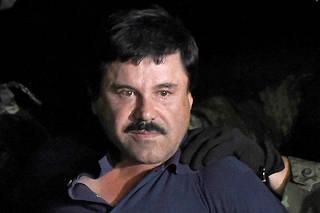 Sous escorte. Arrêté le 8 janvier à Los Mochis, El Chapo a été immédiatement transféré à la prison d'Altiplano en hélicoptère.  ©ALFREDO ESTRELLA
