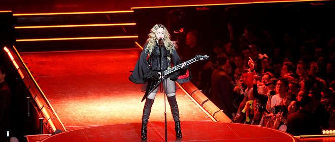 Un concert de Madonna, photo d'illustration.