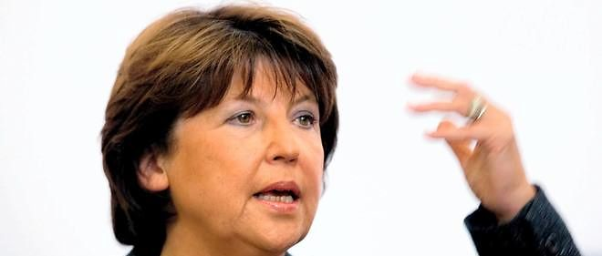 Martine Aubry, photo d'illustration.