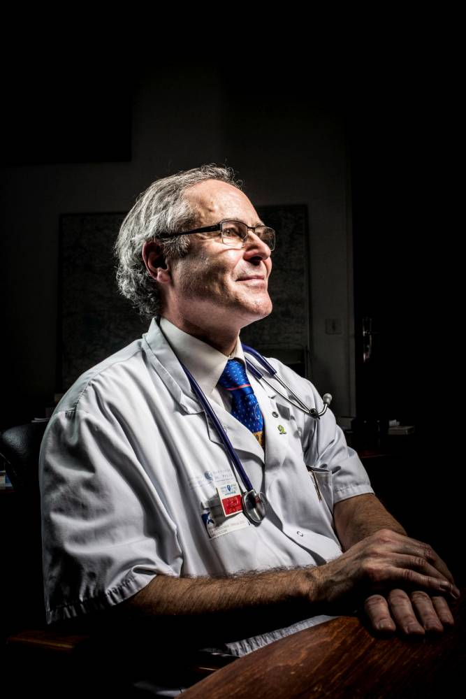 Professeur Christian Perronne, infectiologue © RGA/REA