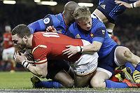 Les Bleus n'ont plus gagné contre le Pays de Galles depuis 2011 et la série se poursuit après la victoire du XV du Poireau ce vendredi soir. ©ADRIAN DENNIS