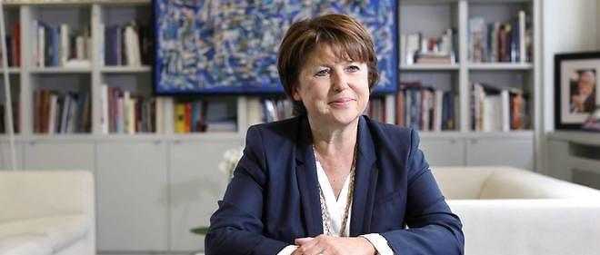 L'ancienne patronne du PS Martine Aubry.