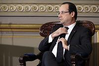 François Hollande, l'homme des synthèses impossibles, paraît avoir perdu la main. ©PHILIPPE WOJAZER