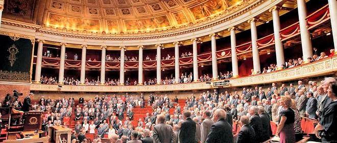 Les députés à l'Assemblée nationale, photo d'illustration.