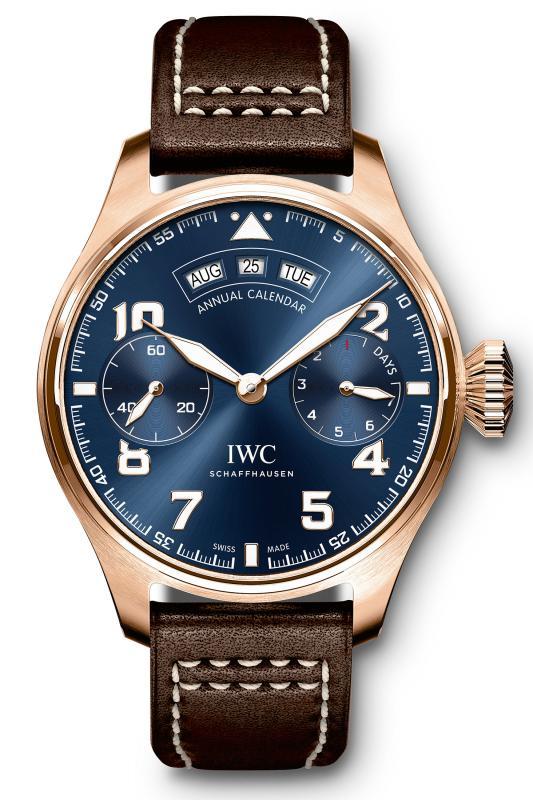 Grande Montre d'Aviateur Calendrier Annuel Edition « Le Petit Prince » Big Pilot's Watch IW502701