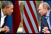 Le président américain Barack Obama et son homologue russe Vladimir Poutine (illustration).