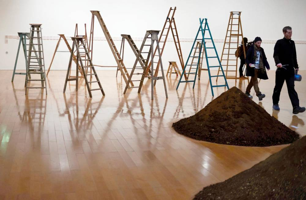 Exposition Yoko Ono, Lyon © JEAN-PHILIPPE KSIAZEK AFP