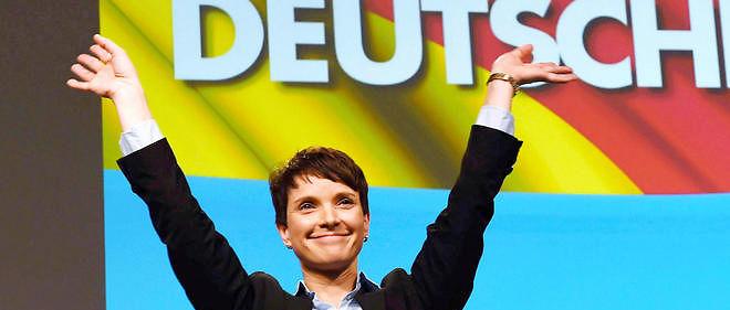 Le parti dirigé par Frauke Petry, Alternative für Deutschland, va-t-il devenir la troisième force politique du pays ?