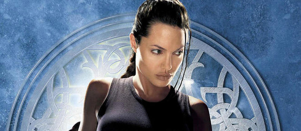 Angelina Jolie en Lara Croft