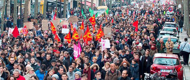 Loi Travail Plusieurs Centaines De Personnes Mobilisees A Paris