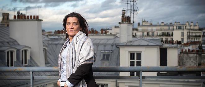 """Nadia Remadna, auteur de """"Comment j'ai sauvé mes enfants"""" et fondatrice de la Brigade des mères."""