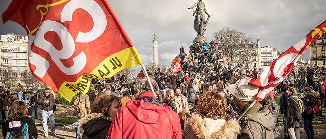 L'Unef planifie déjà une nouvelle journée d'action le 17 mars, avant de se rallier le 31 à l'appel à faire grève et à manifester des syndicats, notamment la CGT et FO.