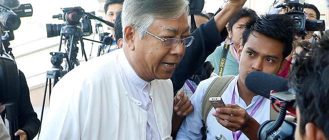 Le nouveau président birman, Htin Kyaw, 69 ans et intellectuel respecté, est un ami intime d'Aung San Suu Kyi.